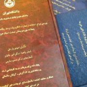متن پایان نامه های دانشگاه تهران در اختیار دانشجویان قرار می گیرد.